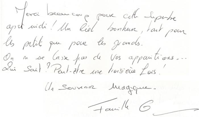 30 Mars 2013 - Témoignage Anniversaire Pierre 5 ans