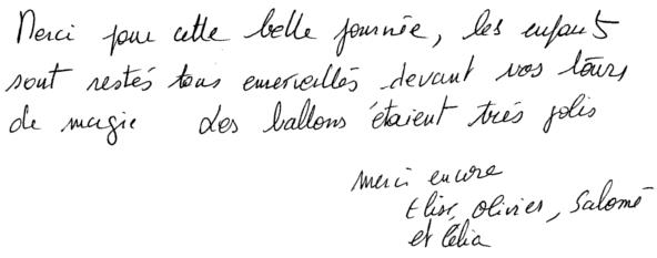2013-10-19 témoignage anniversaire salomé 7ans