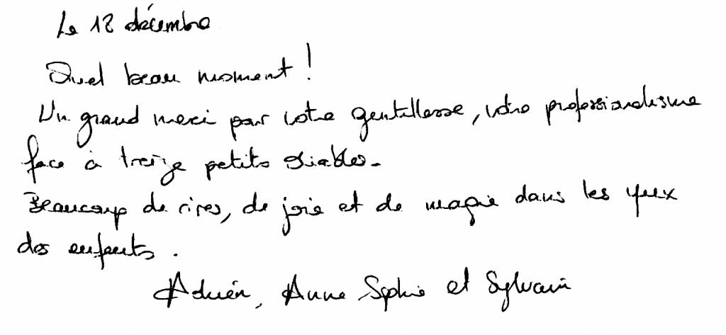 Anniversaire Adrien 9 ans