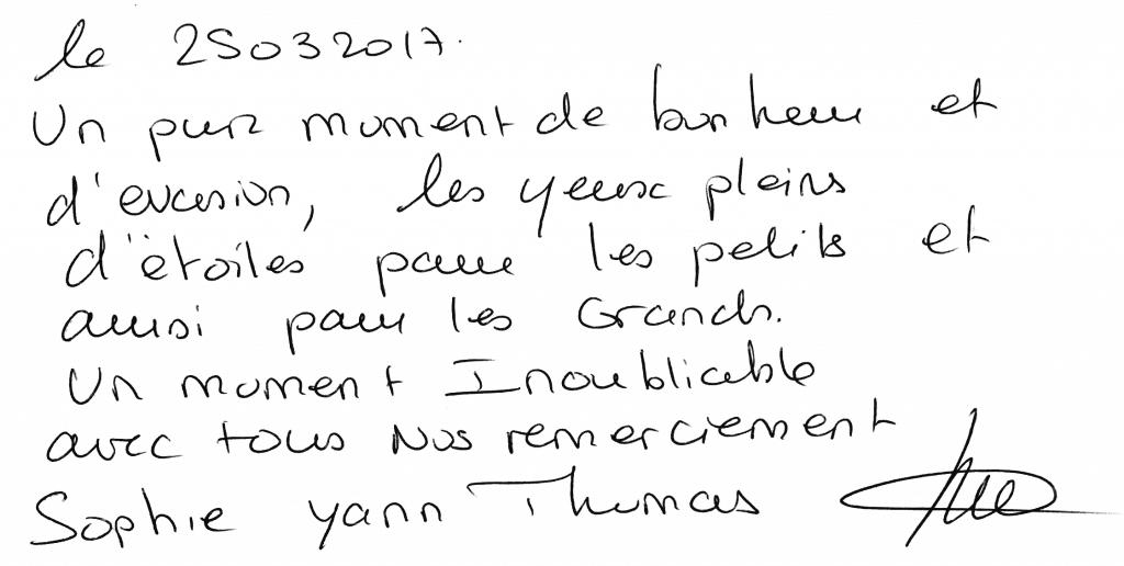 Anniversaire Thomas 8 ans